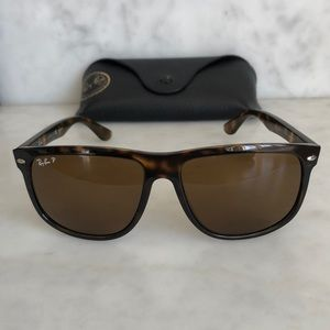 Ray-Ban Unisex Flat-Top Boyfriend Sunglasses 60mm